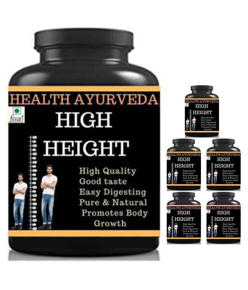 Health Ayurveda high height mango flavor 0.6 kg Powder Pack of 6