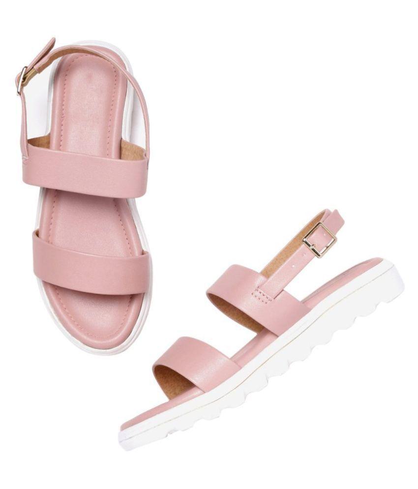 Footster Pink Platforms Heels