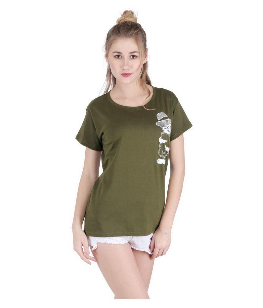Broadstar Cotton Green T-Shirts - Single