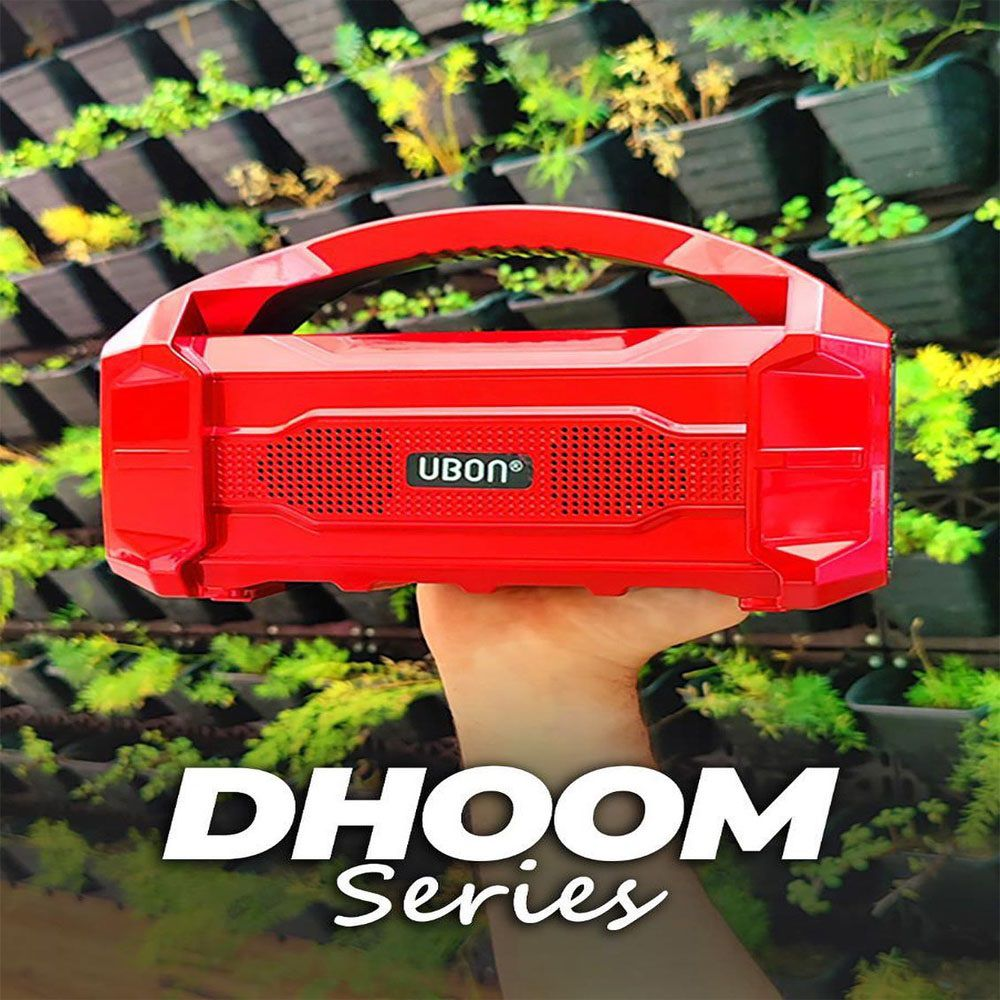 Pingaksh UBON GBT-285 DHOOM SERIES WIRELESS SPEAKER Bluetooth Speaker