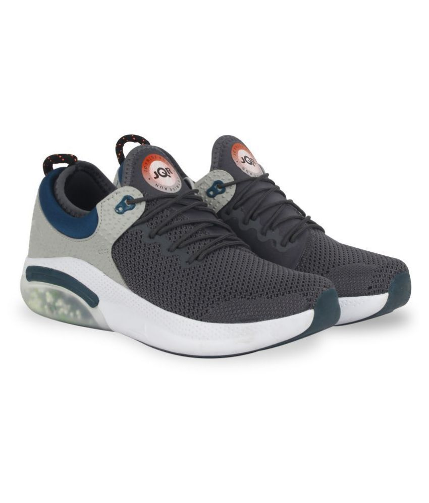 JQR Supperjoyo Beige Running Shoes