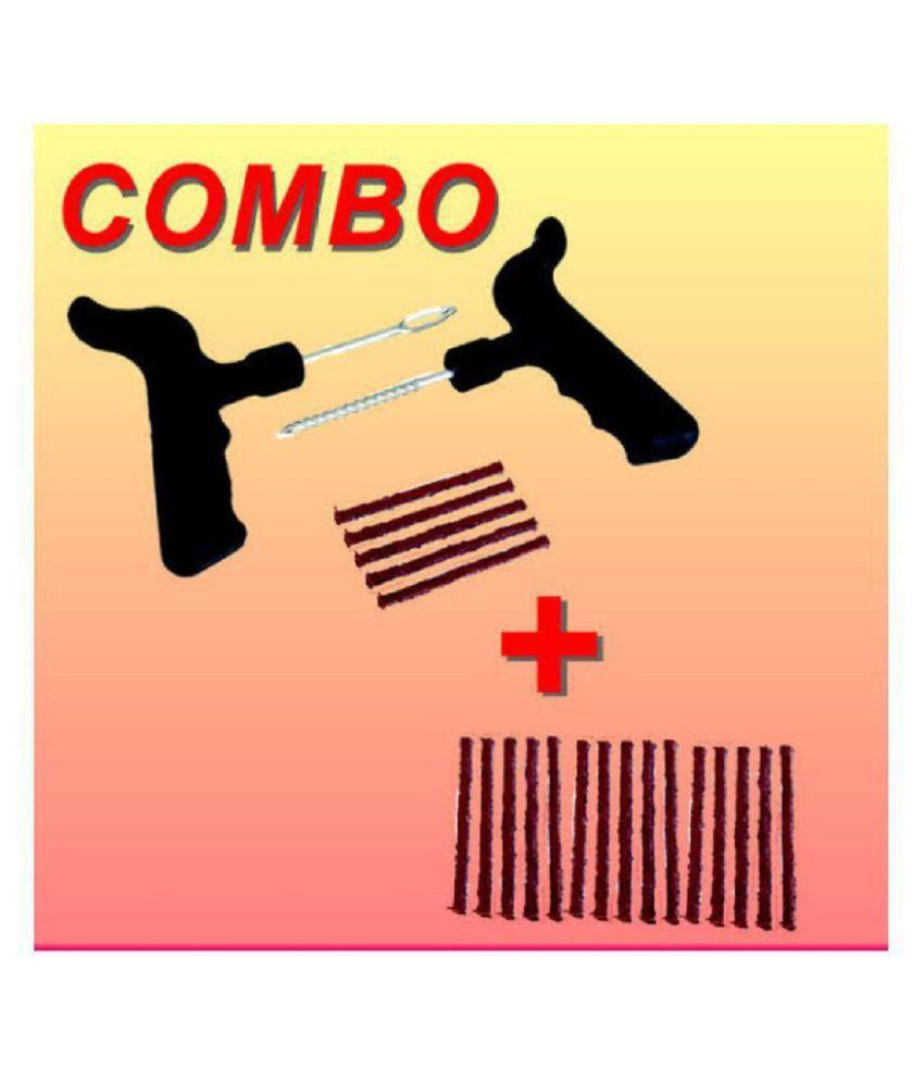 delhi deals Tubeless Tyre Puncture Repair Kit 11 - 20 Strips