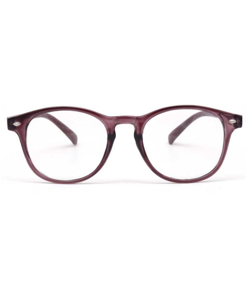 Unisex Blue Cut & Anti-glare Computer Glasses | For Computer Mobile TV | Eye Protection | Zero Power | Standard Size | Brand - Optify