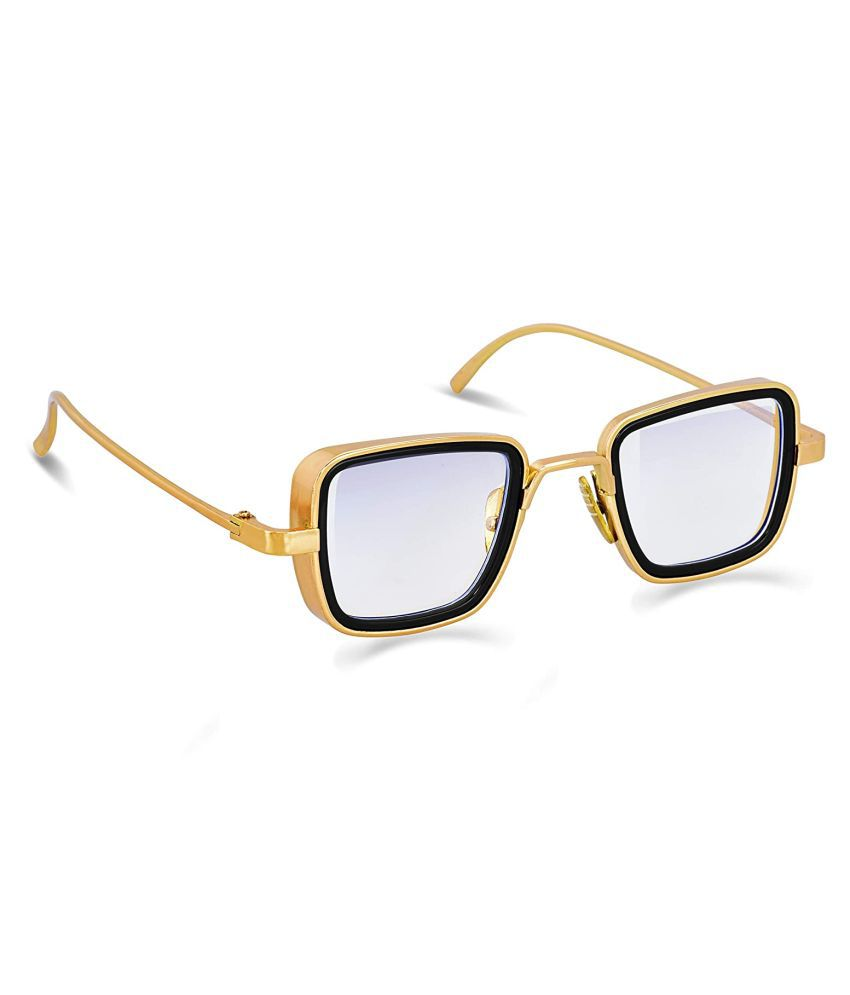 Unisex Blue Cut & Anti-glare Computer Glasses   For Computer Mobile TV   Eye Protection   Zero Power   Standard Size   Brand - Optify