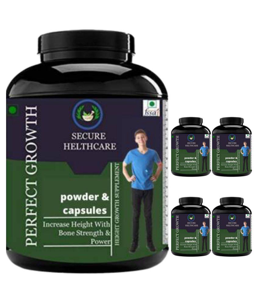 VITARA HEALTHCARE perfect growth plain flavor 0.5 kg Powder Pack of 5