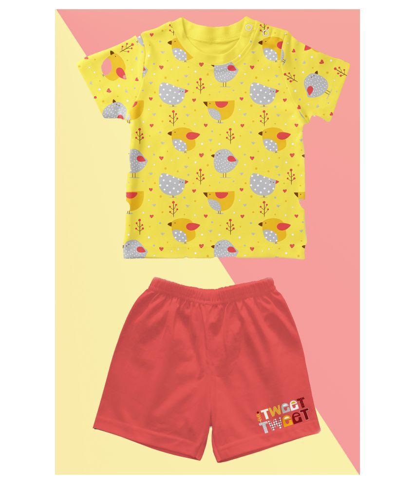 Baby boys casual shorts & t-shirt
