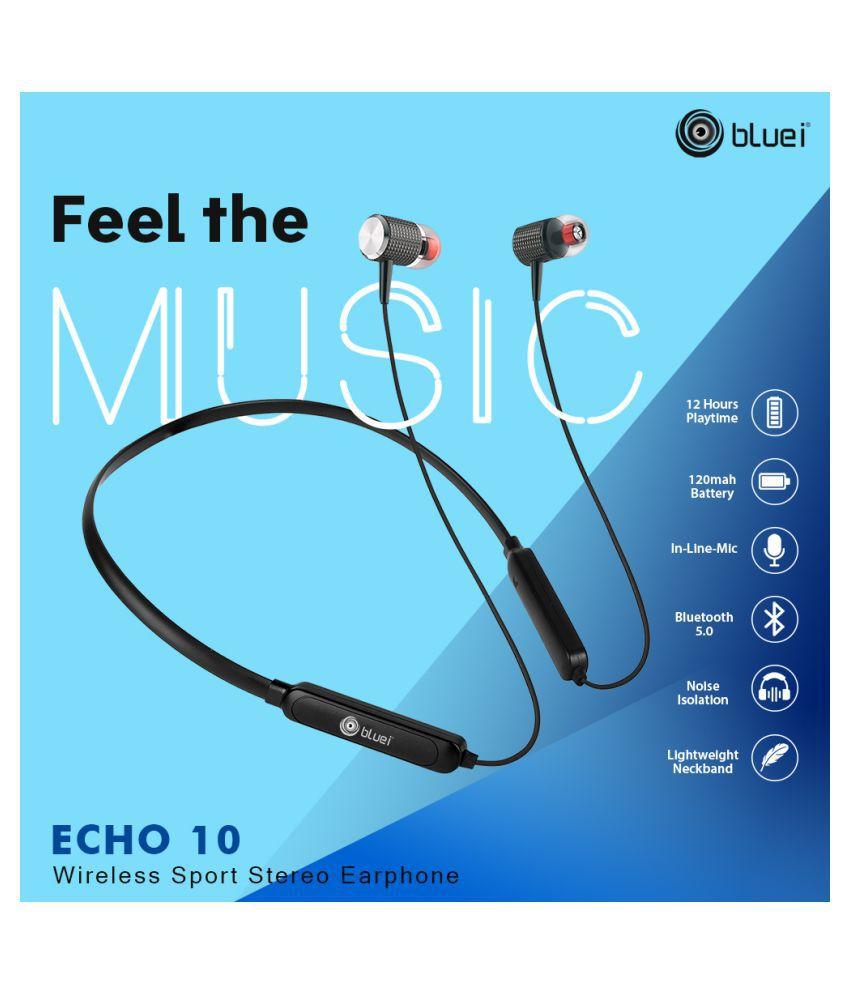 Bluei ECHO 10 Bluetooth Headset - Black