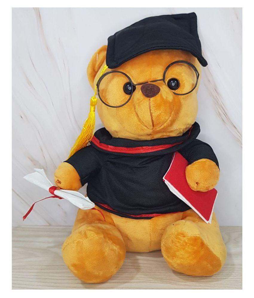 Kiddie Toys Teddy Bear Soft Toy for Kids  Brown Sitting Teddy Bear 30 cm