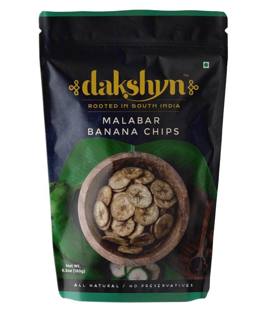 Dakshyn Pepper Banana Chips 180 g Pack of 2