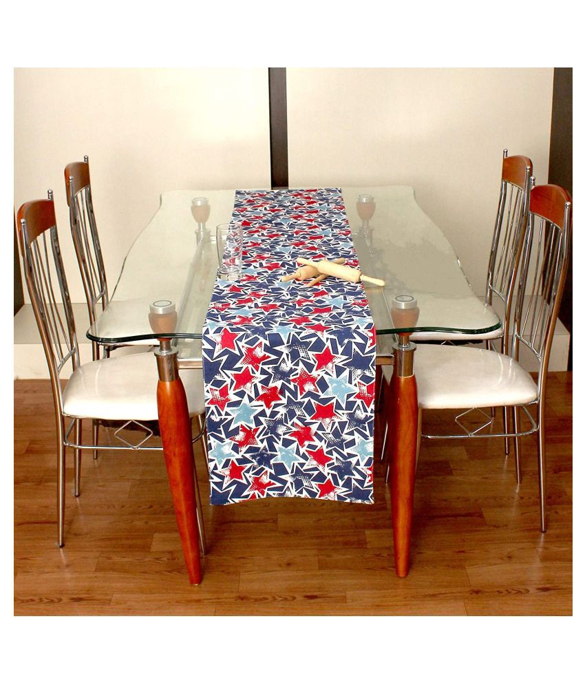 cotton candy 4 Seater Cotton Single Table Runner