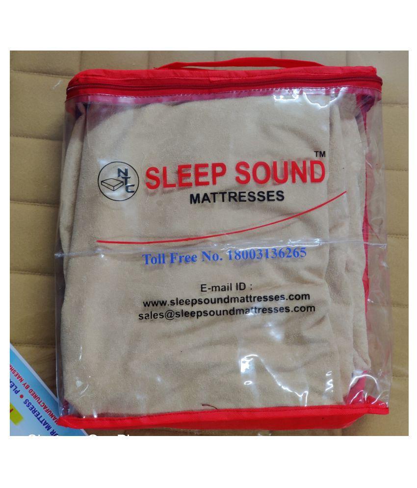 Sleep Sound Mattresses Gray Poly Cotton Mattress Protector