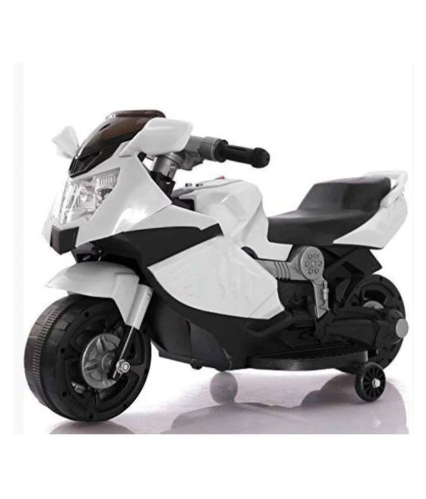 BABY  Racer Bike Rechargeable Battery Operated Ride-On for BABY Ride on fortuna racer bike by BABY is a safe, easy to operate, ride on toy that can be used on any hard  and lets your kidS
