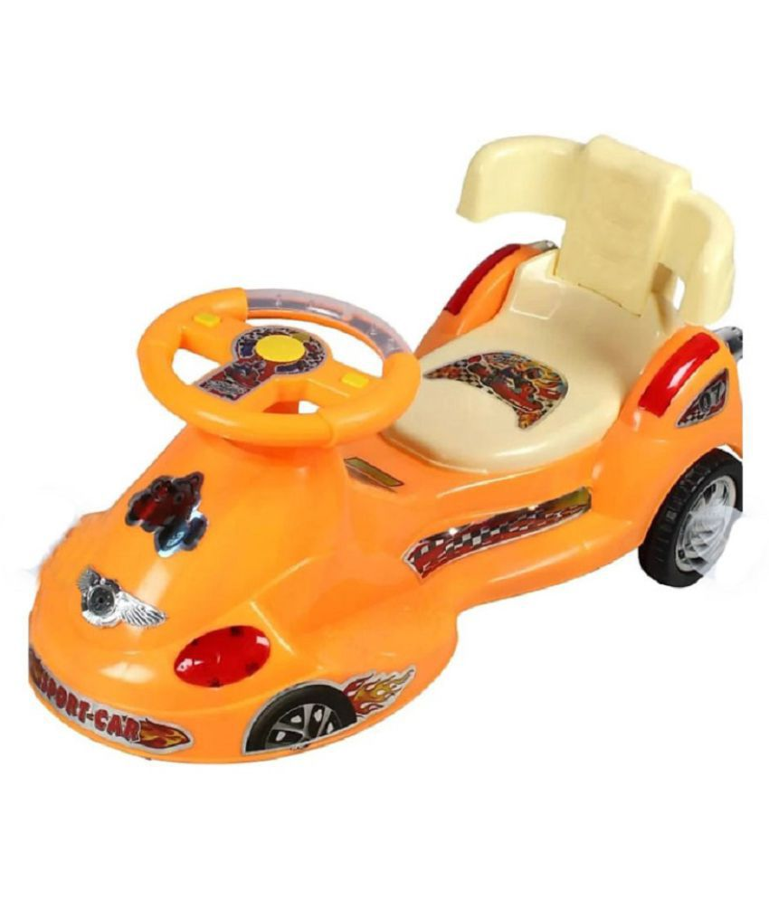 OH BABY' BABY METRO TRAIN MAGIC CAR WITH MULTICOLOR RIDE ON CAR WITH LIGHT AND MUSIC WITH BACK SUPPORT 80 KG WEIGHT CAPACITY FOR GIRLS AND BOYS WITH BEST QUALITY PLASTIC assembling video  https://www.youtube.com/watch?v=WynF-a-4EQ0)FOR UR KIDS.FGTY-