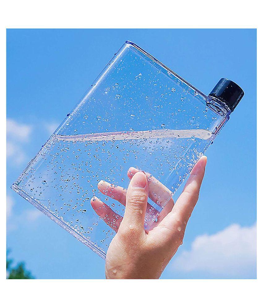 DOTSURR A5 memo notebook bottle Orange 420 mL Plastic Water Bottle set of 1