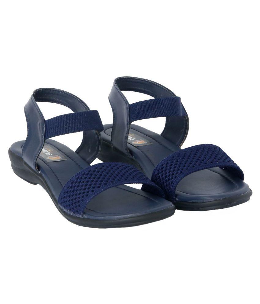 KUTON Blue Flats