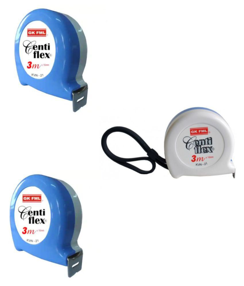 Freemans Centi Flex 3 Mtr Measuring Tape (Set of 3 Piece).