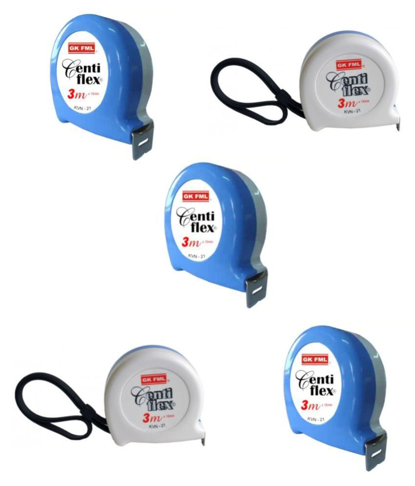 Freemans Centi Flex3 Mtr Measuring Tape (Set of 5 Pieces)