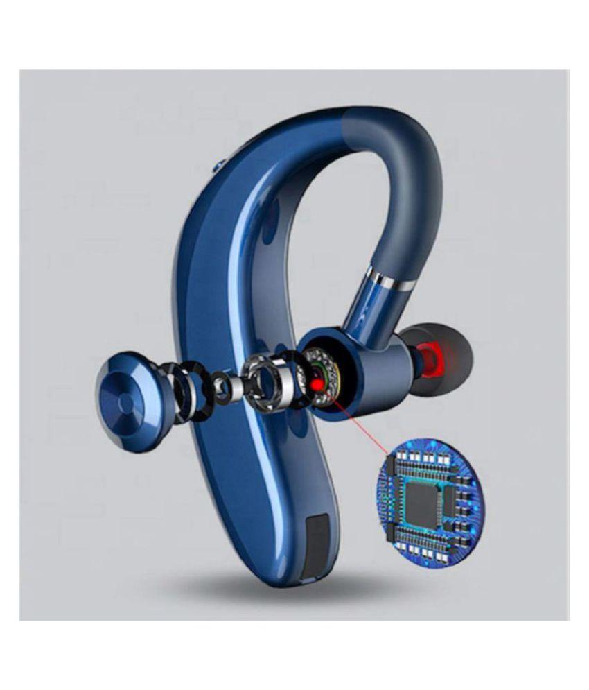 Innotek S109 Wireless Bluetooth Headset with Mic   Blue   Handsfree Calling  amp; Music headphone