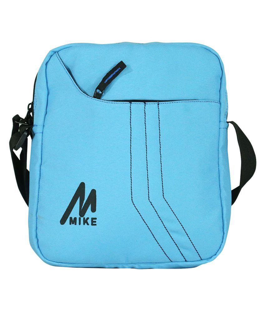 Solid 5 Ltrs Messenger bag - Lightblue