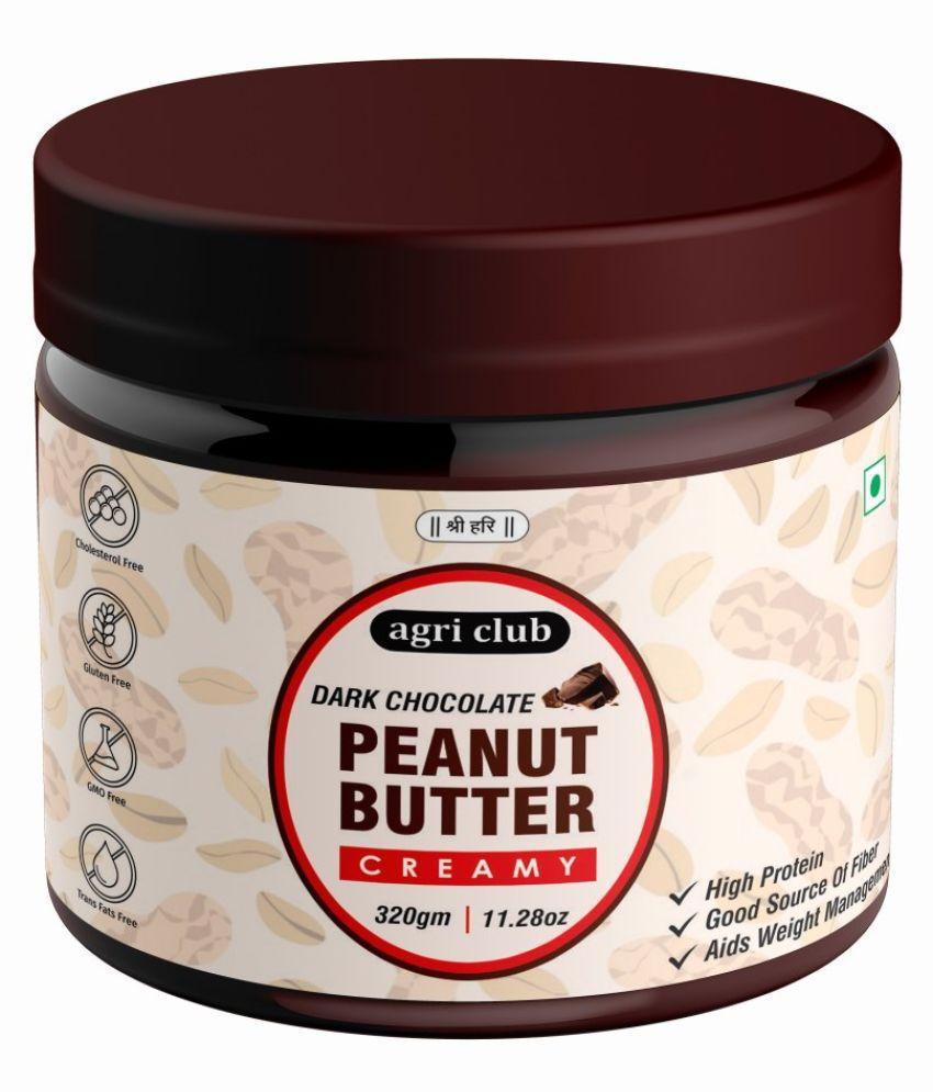 AGRI CLUB Chocolate Peanut Butter Creamy 320 gm