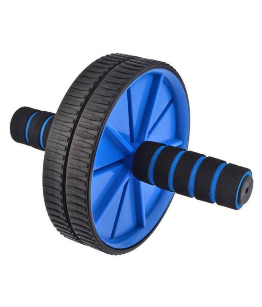 Aurapuro wide ab wheel roller for home gym