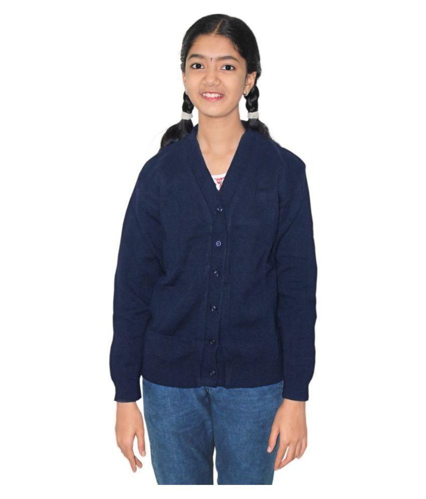 Goodluck School Uniform Boy's/Girl's Full Sleeve Sweater