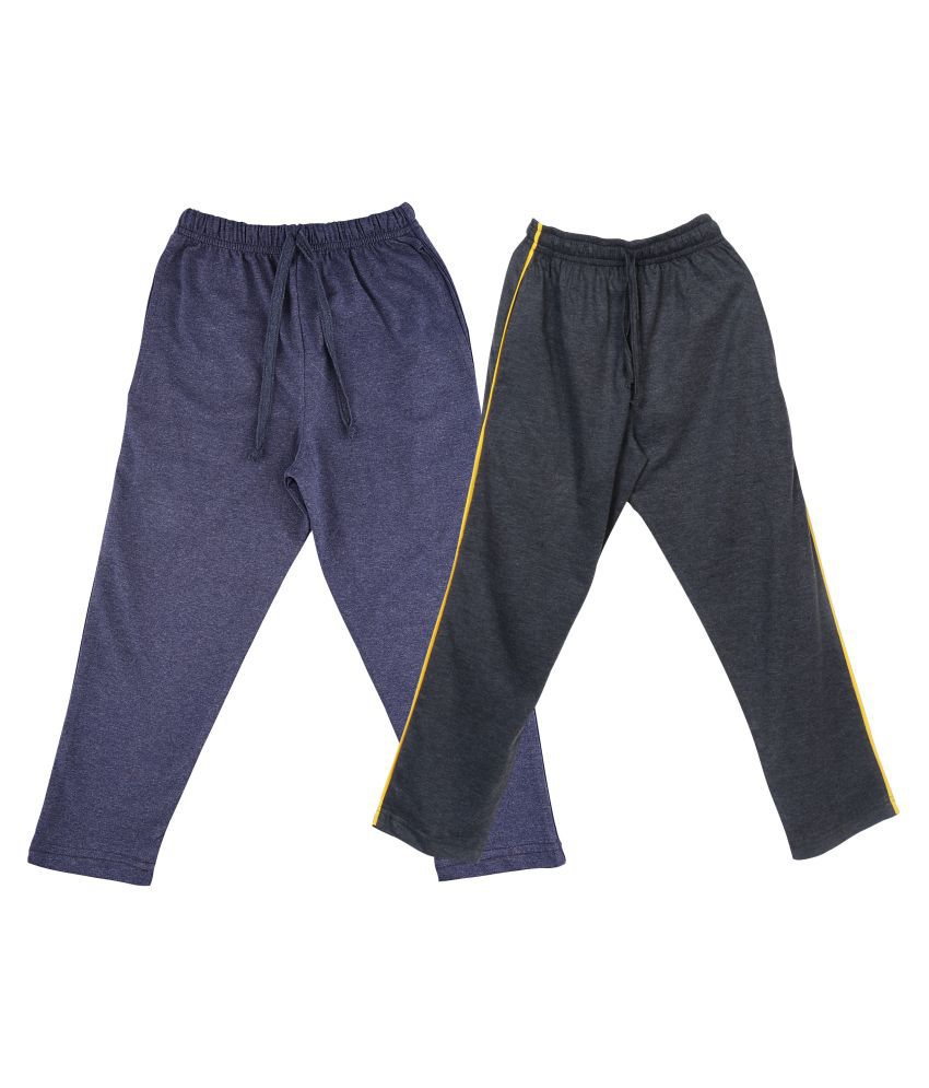 Neo Garments Boy's Cotton Combo Trackpant. CARBON & DENIM BLUE. (Sizes from 1yrs to 2yrs).