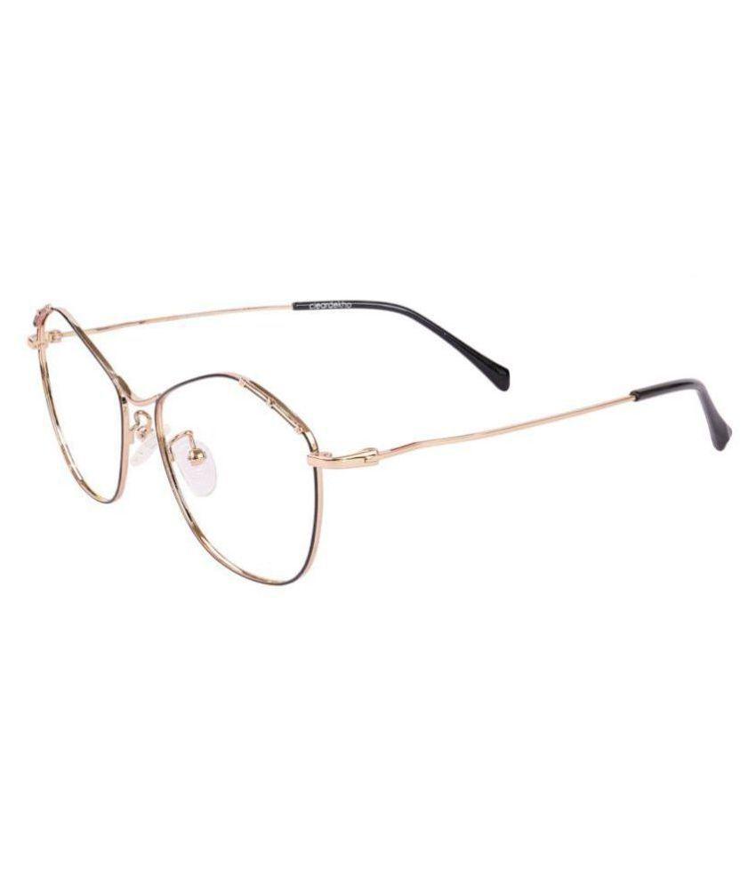 Women's Blue Cut & Anti-glare Computer Glasses   For Computer Mobile TV   Eye Protection   Zero Power   Brand - Clear Dekho